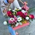 #ПетровскийСад56<br>Телефон для заказов ???<br>? 8 (922) 829-10-00<br>? 90-10-00<br>?? Любишь? Скажи это цветами ??<br>На Большом Складе самый настоящий цветочный рай☺️<br>Композиции и букеты из роз, эустом, альстромерий, лилий, гвоздик и не только?????<br>Приходите к нам на @petrovskymarket за красотой и эмоциями ?<br>Такой ящик с цветочной композицией в наличии 1250₽ ???❤️<br>У нас Вы можете так же заказать букет заранее, предварительно написав в Директ ☺️?<br>Красота внутри и снаружи ? Ваш фермерский рынок Петровский край ☺️?<br>