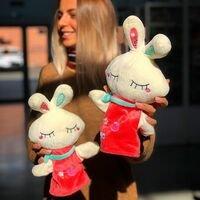 Приходите к нам в @shelkovy_put56 за такими вот милыми игрушками 🤗🐰<br>Всего 350₽ и можно устроить кукольный театр 😉⛩<br>